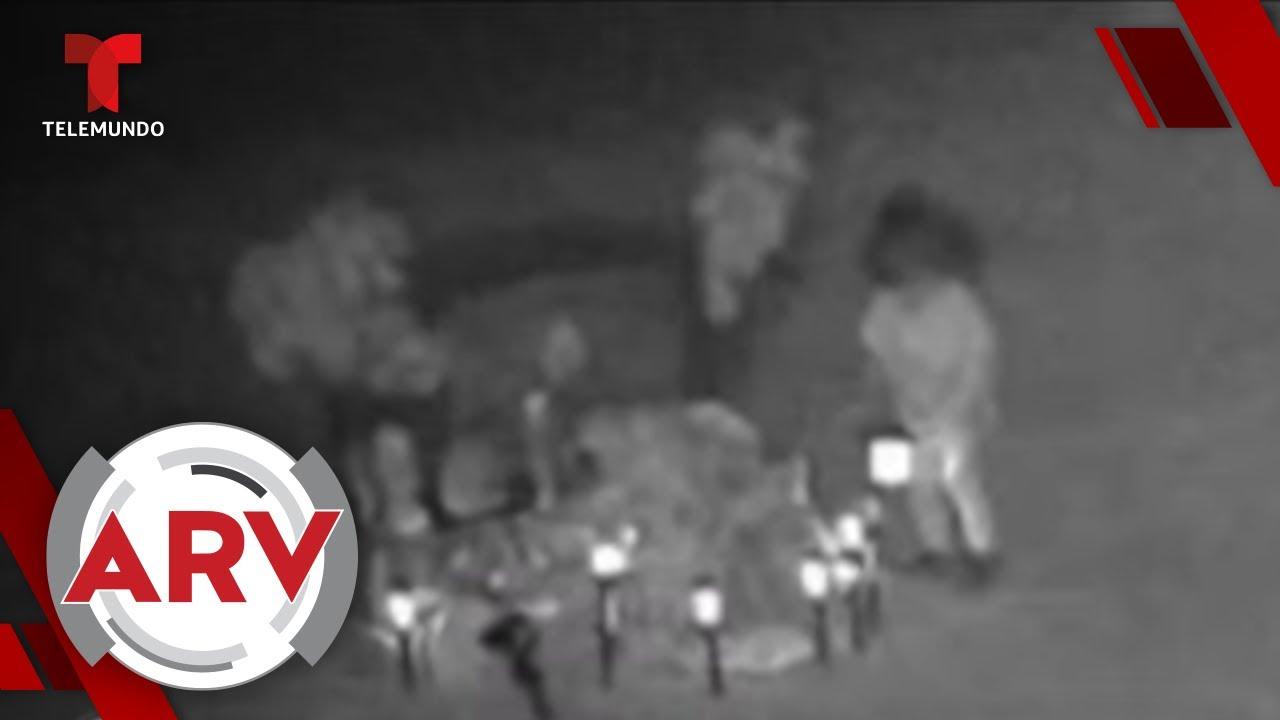 Supuesto fantasma es visto en cementerio de Nueva México | Al Rojo Vivo | Telemundo