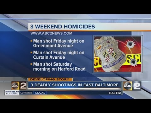 Baltimore nears 300 homicides for the year after weekend shootings