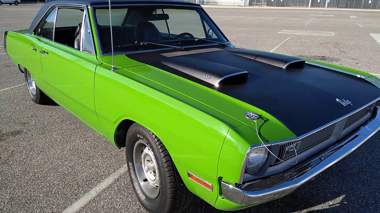 Image result for sassy grass green '70 Dodge Dart 340 swinger