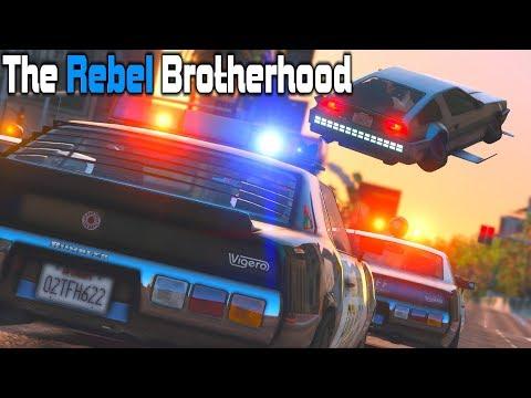 TRB #26 - Eighty-Eight Miles-Per-Hour! | Retro GTA V RP