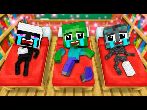 MONSTER SCHOOL : BABY SCP 096 LIFE - FUNNY MINECRAFT ANIMATION