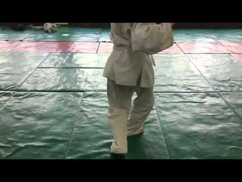 Judo footwork drill