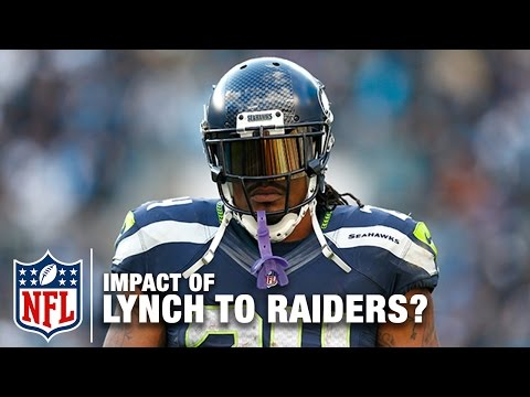 Marshawn Lynch's Potential Impact on Raiders in 2017? | Around the NFL & Total Access | NFL Network