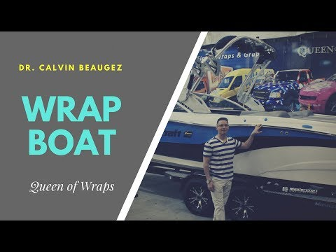 Awesome! Wrap boat in 1 minute