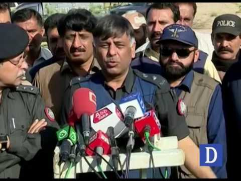 SSP Rao Anwar media talks in Karachi