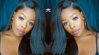 Hairline of FLEEK! Dream Swiss 360 Lace Front wig ft. Chinalacewig.com