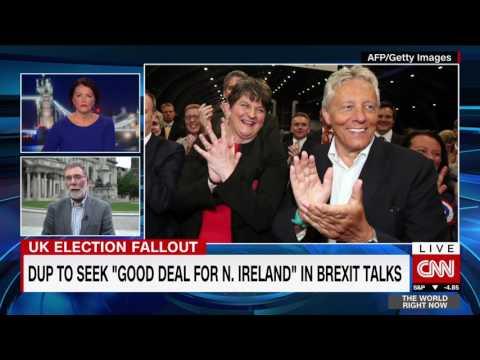 CNN TWRN Nelson McCausland DUP 12th June 2017