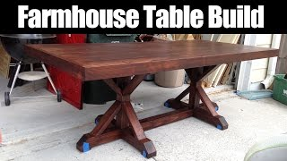 Farmhouse Table Build (CMRW 36)
