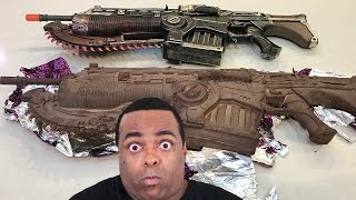 OMG! A Gears of War 4 CHOCOLATE GUN!