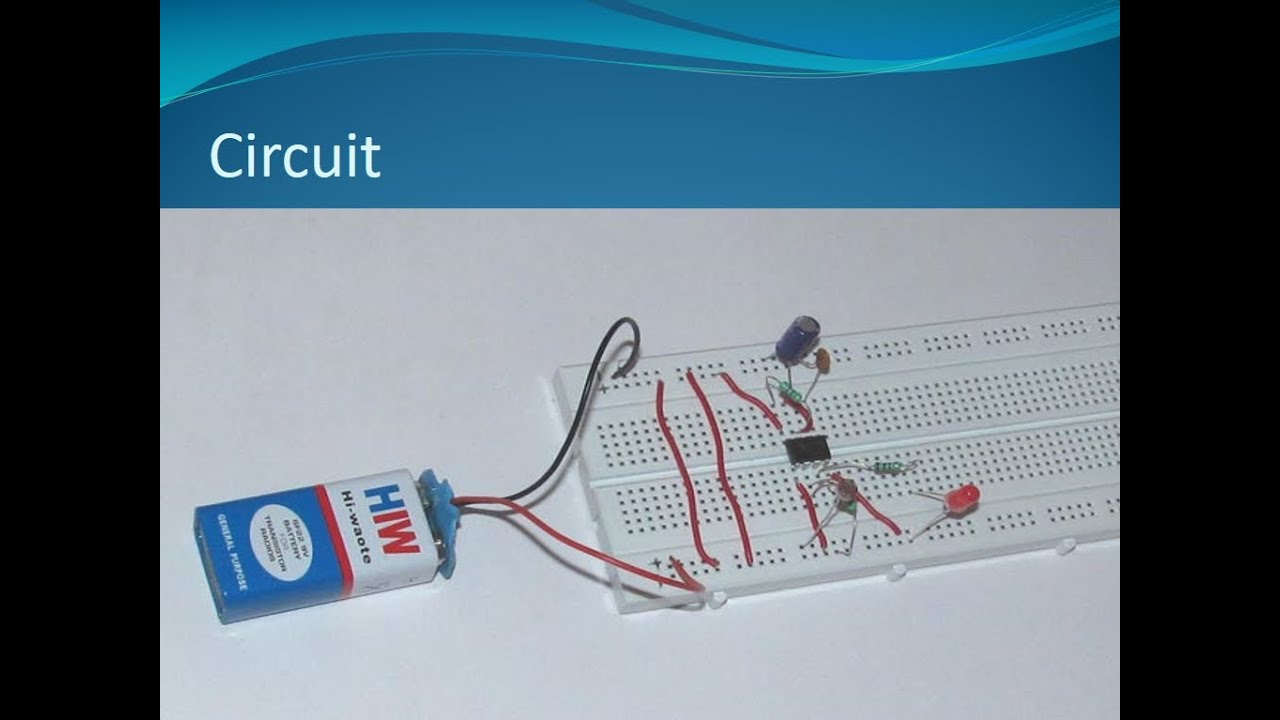 Dark Detecting Led Using Ldr And 555 Timer Ic555 Ic Youtube Door Alarm Circuit Simple Electronic Diagram