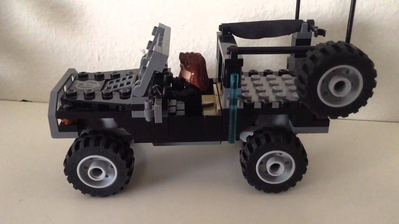 Lego custom Hawkeye's Jeep - YouTube