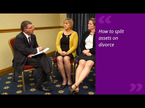 How to split assets on divorce