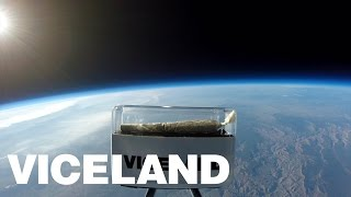 Watch This Spliff Fly Into Space