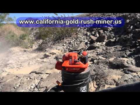 California gold crevicing   gold prospecting