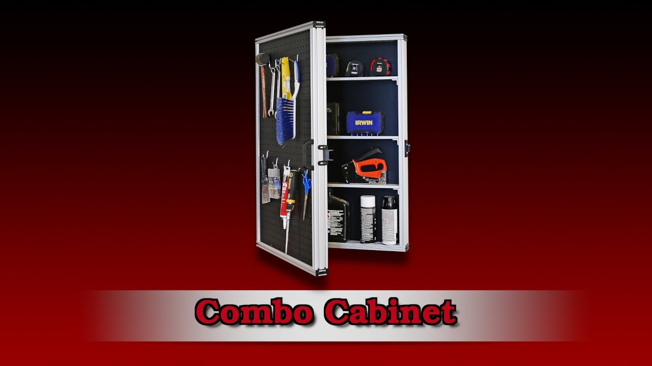 80 20 Inc Xtreme Diy Combo Cabinet Youtube
