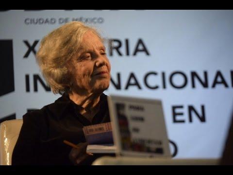 ELENA PONIATOWSKA #BrigadaFILZocalo
