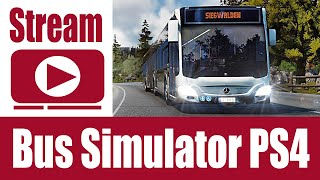 Stream: Bus Simulator PS4, Euro Truck Simulator 2 &Talkrunde