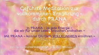 Geführte Meditation zur PRANA-Atmung