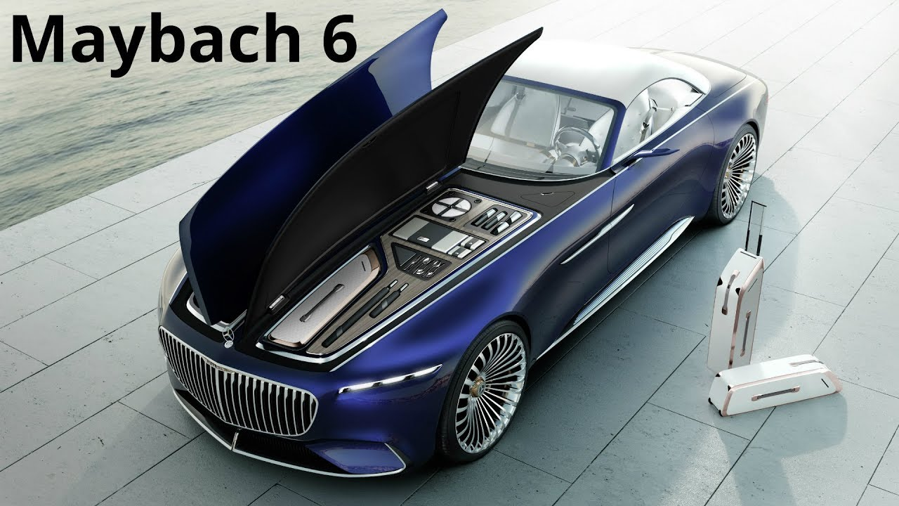 mercedes-maybach 6 cabriolet - electric ultra luxury (750 hp) - youtube