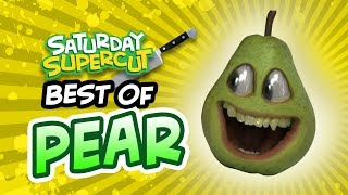 Best Pear Episodes!!! (Annoying Orange Saturday Supercut)