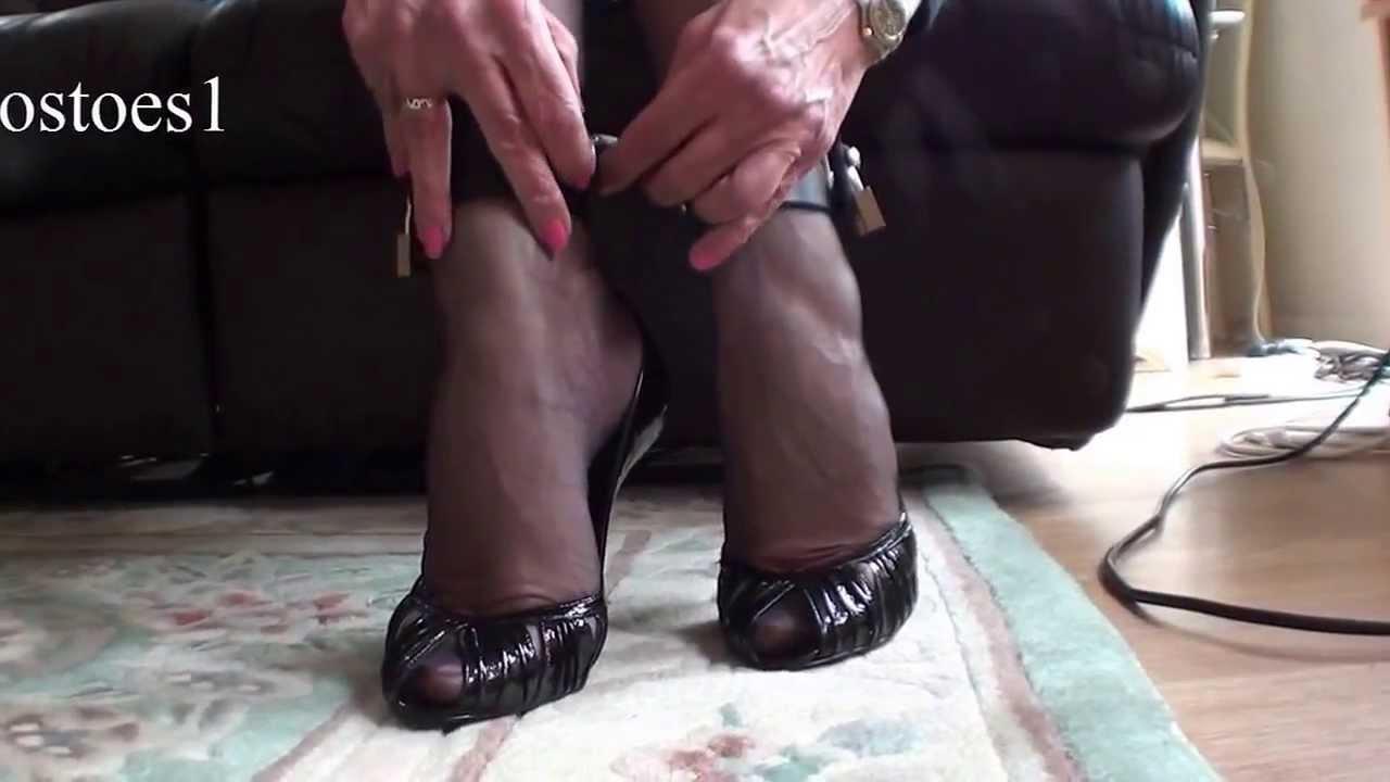 Ankle bondage videos