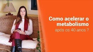 METABOLISMO ACELERADO APÓS OS 40 ANOS? - Clínica Dra. Camila Rodrigues Laranja