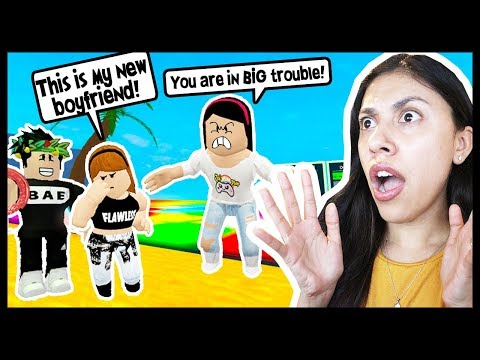 MY LITTLE SISTER IS AN ONLINE DATER! SHE IS IN BIG TROUBLE! - Roblox Roleplay