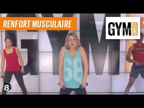Renforcement buste - Renforcement musculaire - 180 - YouTube
