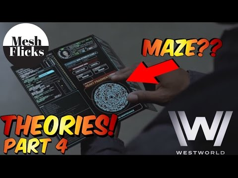 WestWorld | Theories!| Part 4 | Maze,MIB,Arnold and William.