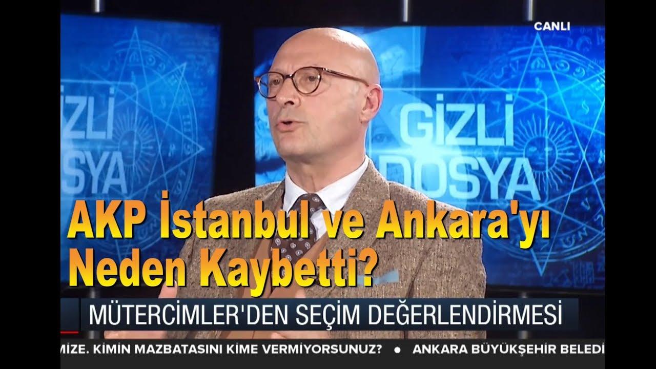 Erol Mütercimler: AKP İstanbul ve Ankarayı Neden Kaybetti?
