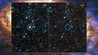 Star Gives Birth to Possible Black Hole in Hubble and Spitzer Images