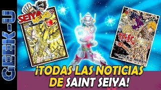 [SeiyaNews #24] ¡Todas las noticias de Saint Seiya!