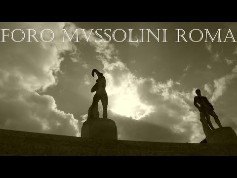 FORO MVSSOLINI   Foro Italico ROMA ITALIA