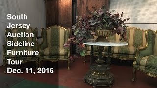 December 11, 2016 Sideline Furniture Tour - South Jersey Auction