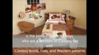 Cowboys Bedding By My World
