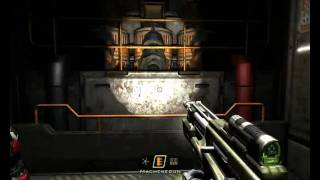 Quake 4 Play Through Hanger Perimeter Maxed Out on XFX HD 4770_Phenom II X4 925