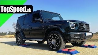 Mercedes G500 4x4 intelligence test - TOPSPEED.sk
