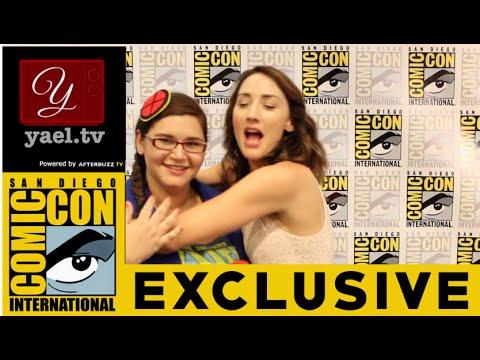 Bree Turner (Rosalee) - Grimm Interview - San Diego ComicCon 2015