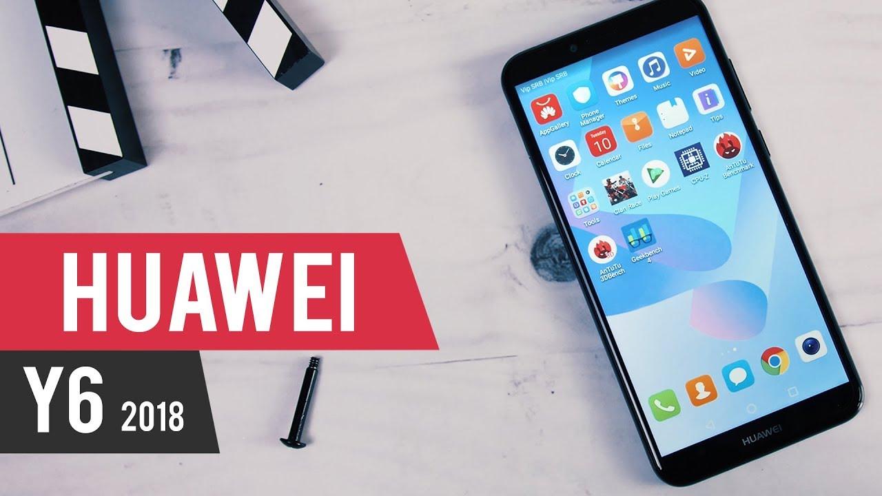 Test: Huawei Y6 (2018) (Video)