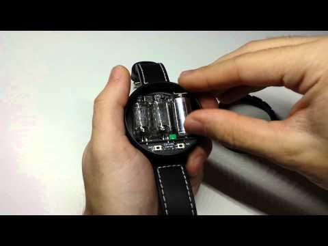 Using the Nixie Watch