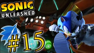 Going in Sonic Unleashed (Wii) : Eggmanland Night & Egg Dragoon