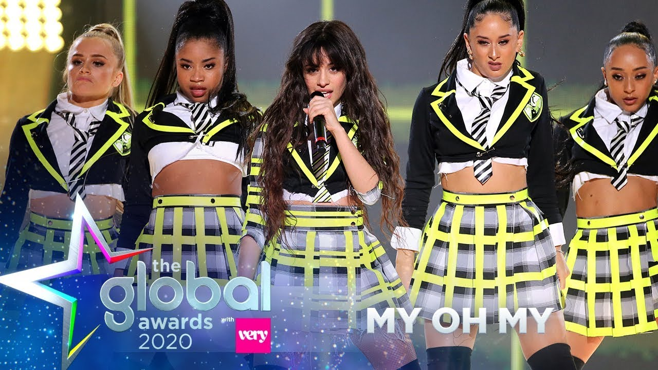 Camila Cabello - 'My Oh My' (Live at The Global Awards 2020) | Capital
