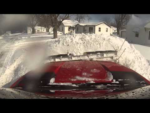 SNOWPLOWING WITH THE CHEVY HD