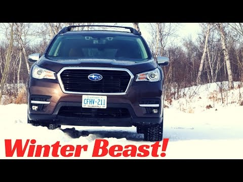 2019 Subaru Ascent Winter Test Drive Review.