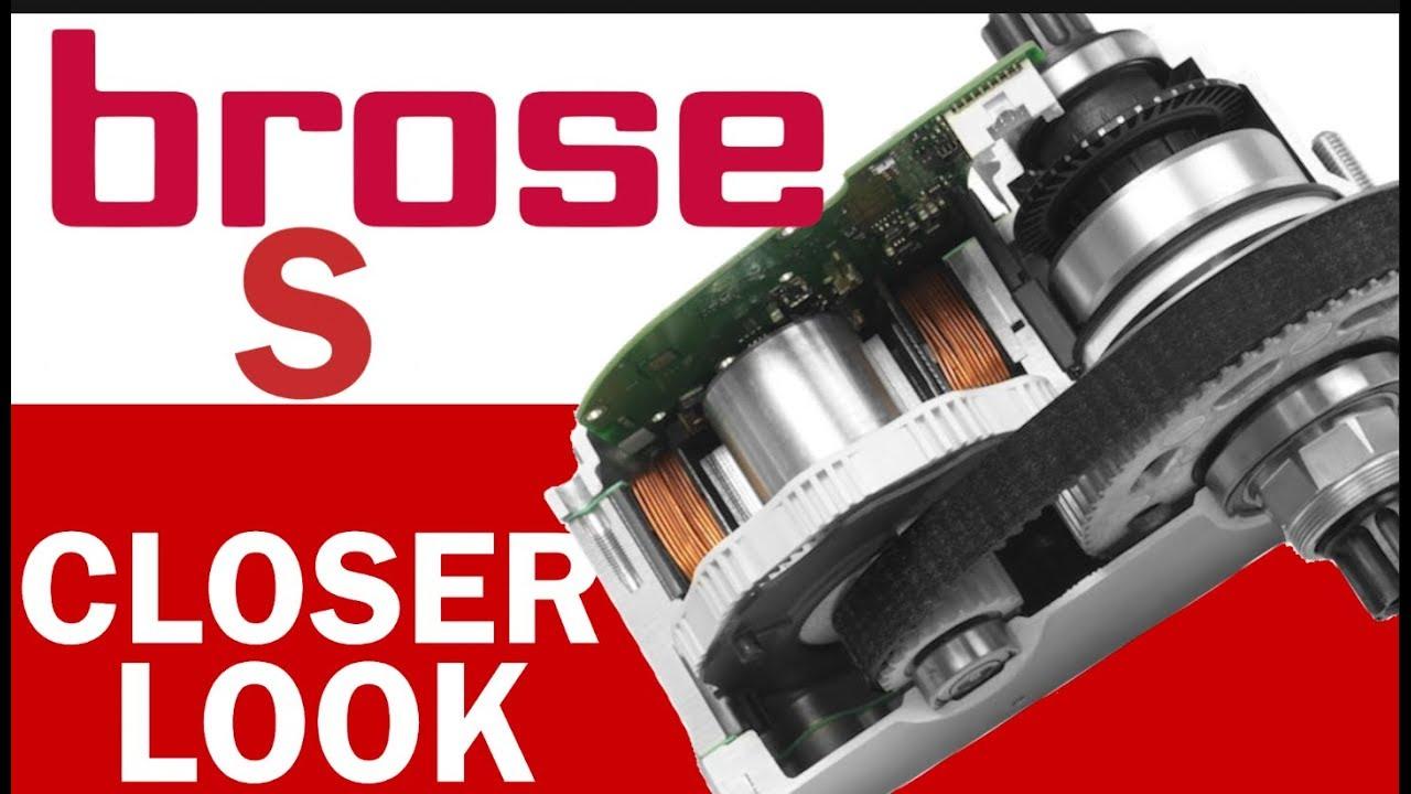 Brose S eBike Motor: Closer Look