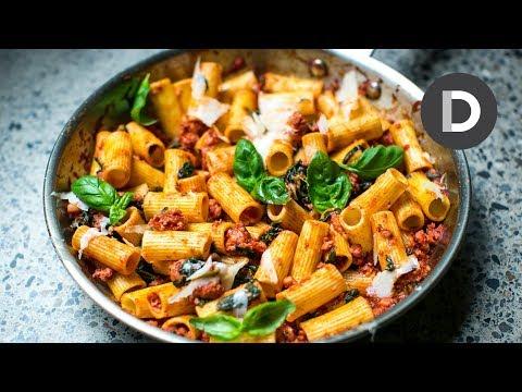 Quick Sausage Ragu Pasta Recipe!
