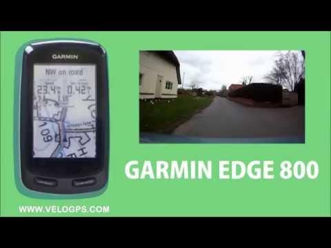 Garmin Edge 800 Course Navigation