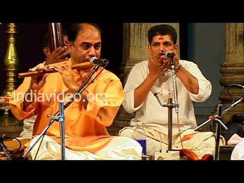 B. V Balasai performing at the Swathi Music Festival, Kerala