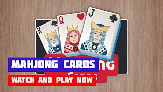 Mahjong Cards · Game · Gameplay