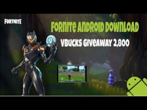 How to download Fortnite on any Android device Vbucks ...